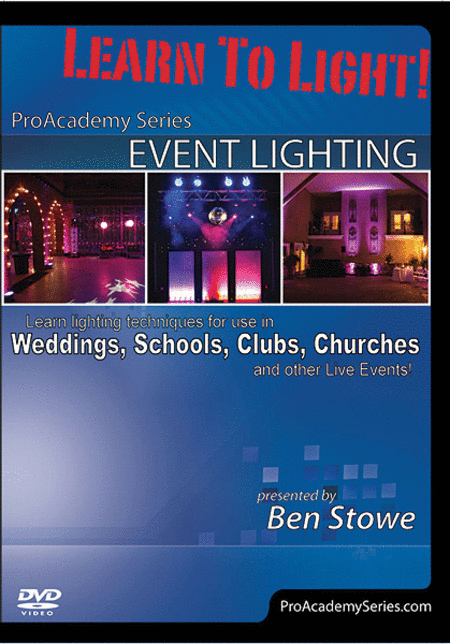 Learn to Light! Pro Academy Event Lighting