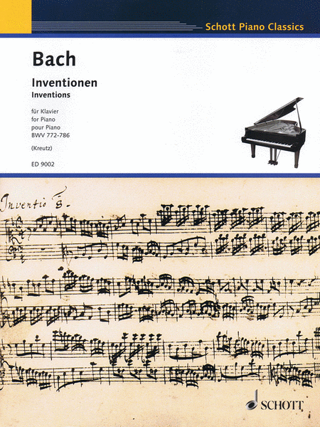 Inventions, BWV 772-786