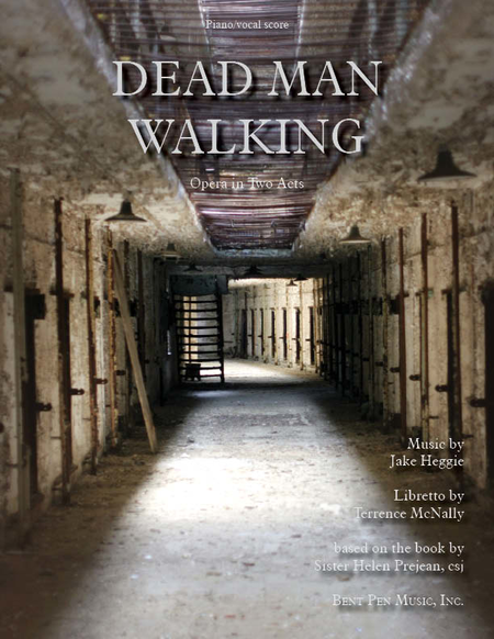 Dead Man Walking (piano/vocal score)