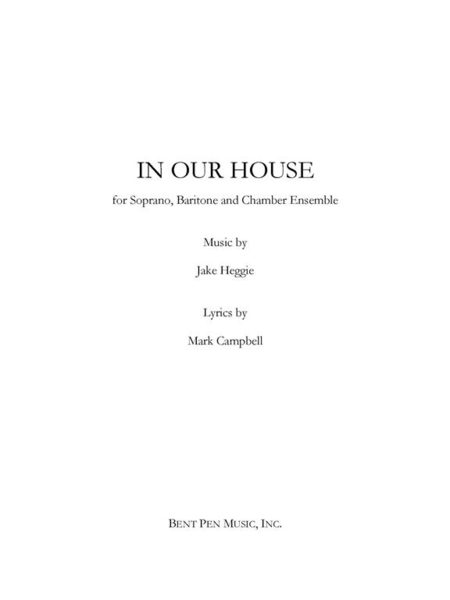 In Our House (piano/vocal score)