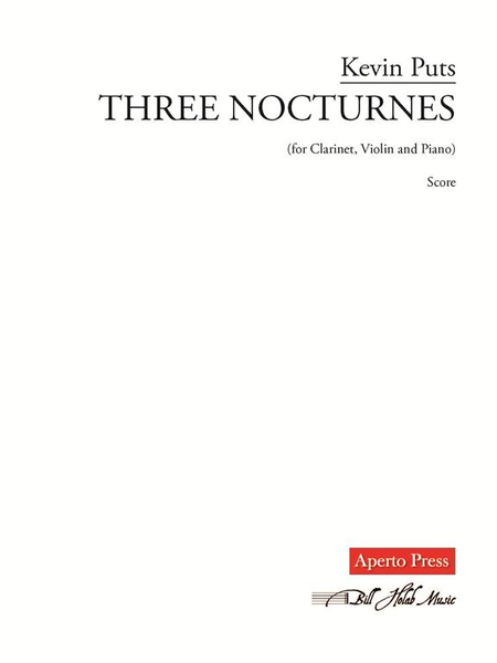 Three Nocturnes (score and parts)