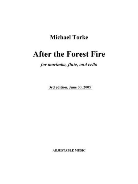 After the Forest Fire (score and parts)