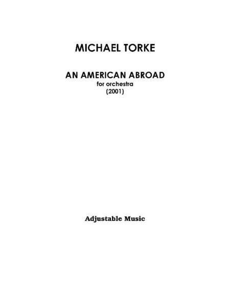 An American Abroad (score)