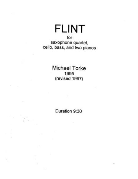 Flint (score)