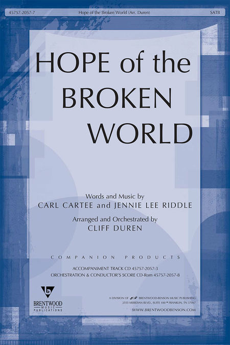 Hope Of The Broken World (Split Track Accompaniment CD)
