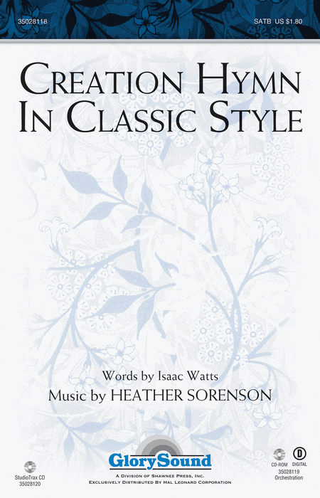 Creation Hymn In Classic Style