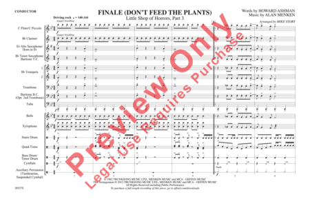 Finale (Don't Feed the Plants)
