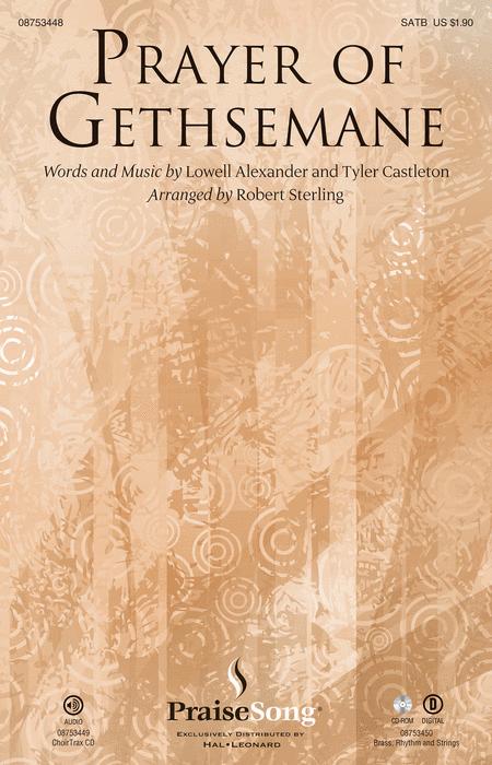 Prayer of Gethsemane - ChoirTrax CD