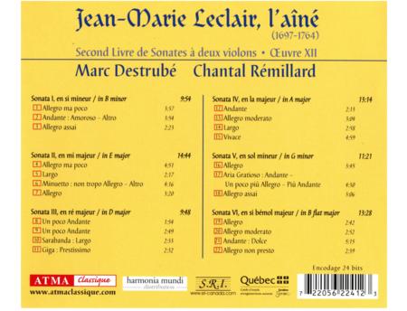 Leclair: Second Book of Sonata