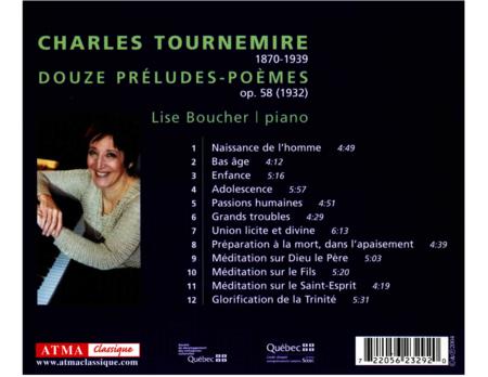 Tournemire: Douze Preludes-Poe