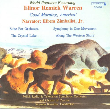 Orchestral Works By Elinor Rem