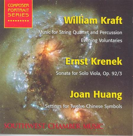 William Kraft Ernst Krenek J