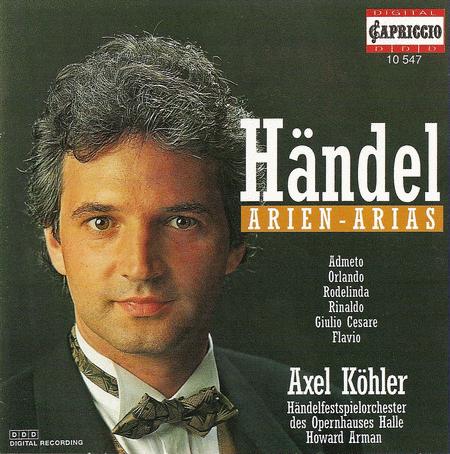 G.F. Handel: Arias (Kohler)