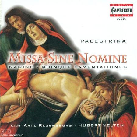 G.P. Palestrina: Missa Sine N