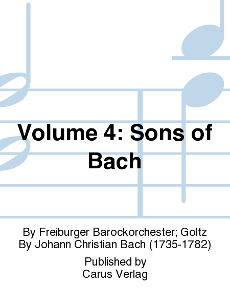 Volume 4: Sons of Bach