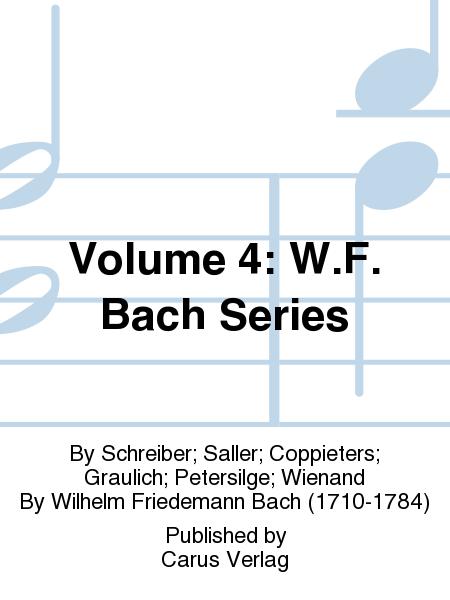 Volume 4: W.F. Bach Series