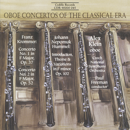 Oboe Concertos By Krommer And