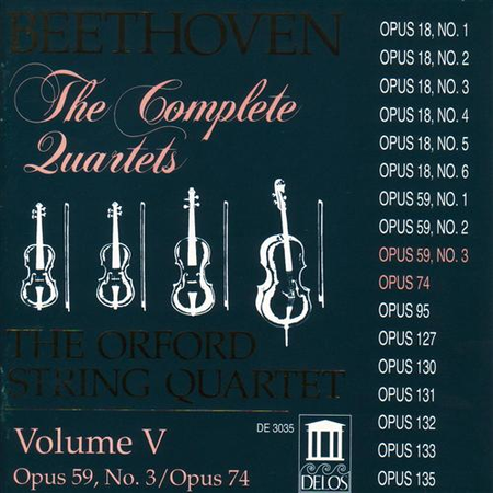 String Quartets Vol. V