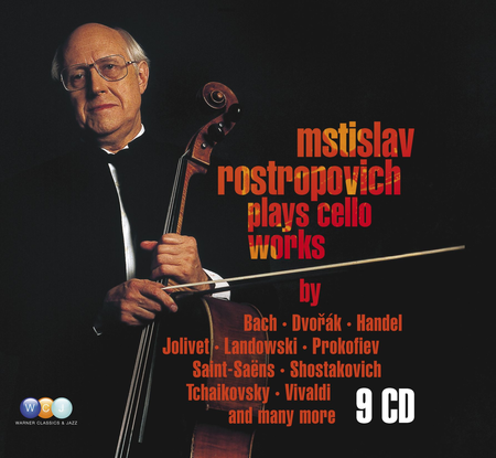 Mstislav Rostropovich Plays Ce