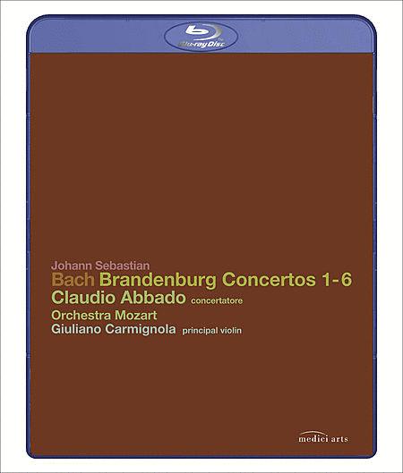 Brandenburg Concertos 1-6 (Blu-Ray)
