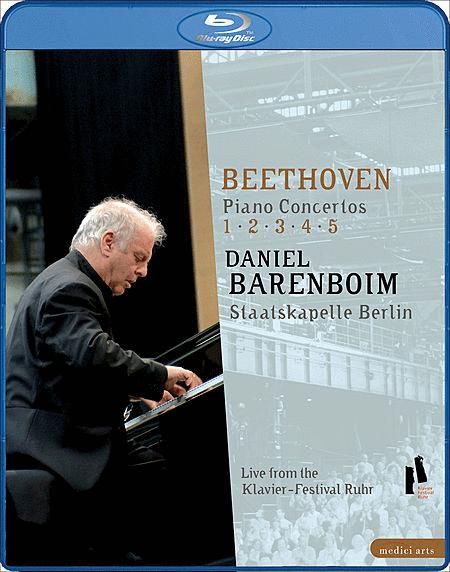 Piano Concertos 1 - 5 (Blu-Ray)