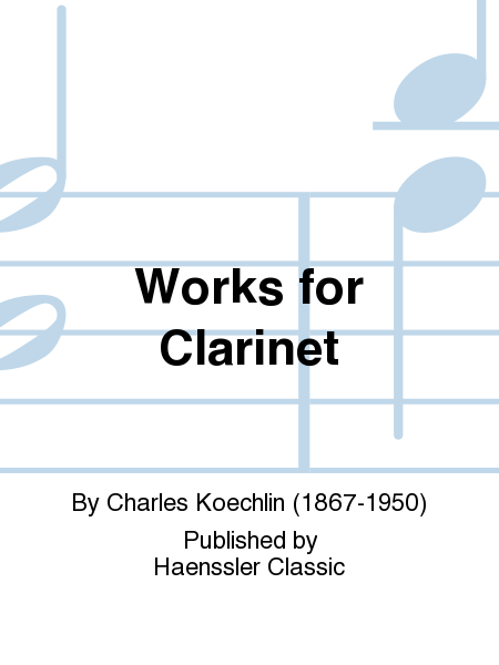 Works for Clarinet