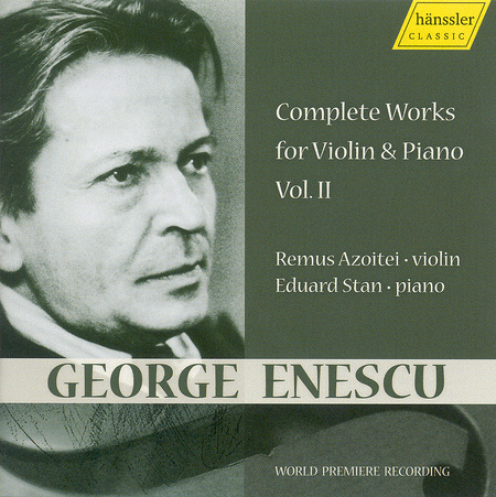 Volume 2: Works for Violin & Piano