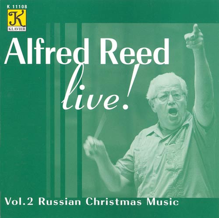 Volume 2: Alfred Reed Live! - Russi