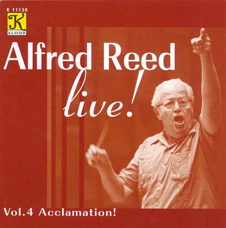 Volume 4: Alfred Reed Live! - Acclam