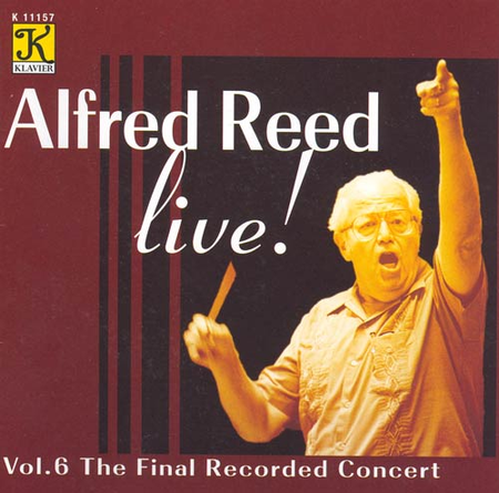 Volume 6: Alfred Reed Live! - the F