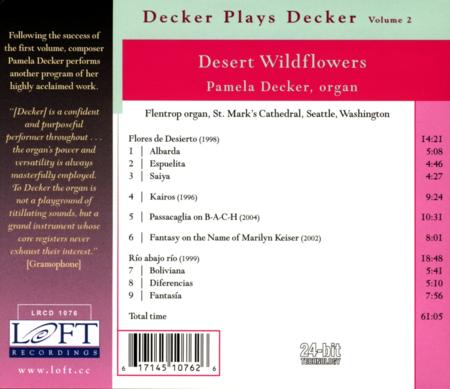 Volume 2: Decker Plays Decker - Des