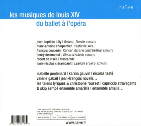 Volume 2: Les Musiques De Louis XIV