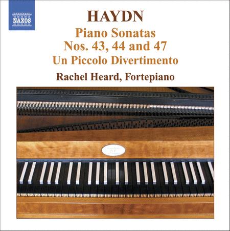 Piano Sonatas Nos. 43, 44 And