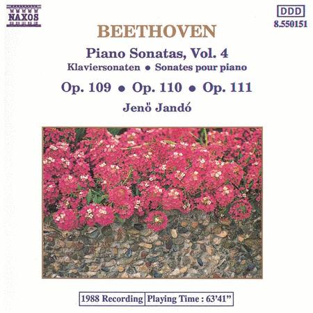 Piano Sonatas Vol. 4