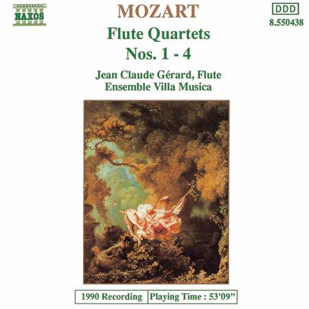 Flute Quartets Nos. 1-4