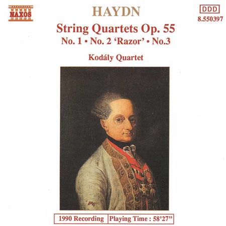 String Quartets Op. 55 Nos. 1