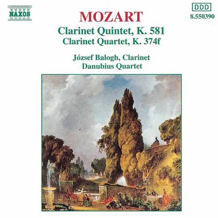 Clarinet Quintet K. 581 & Quartet