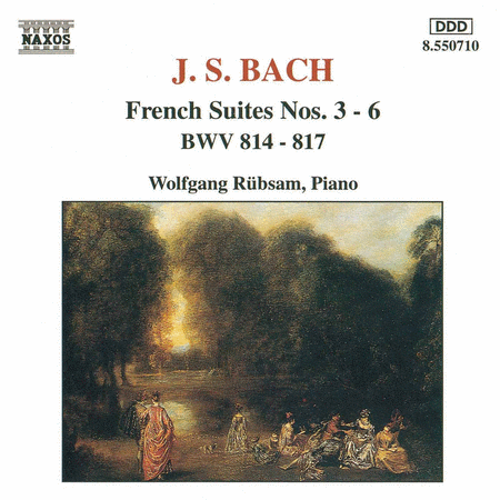 French Suites BWV 814-817