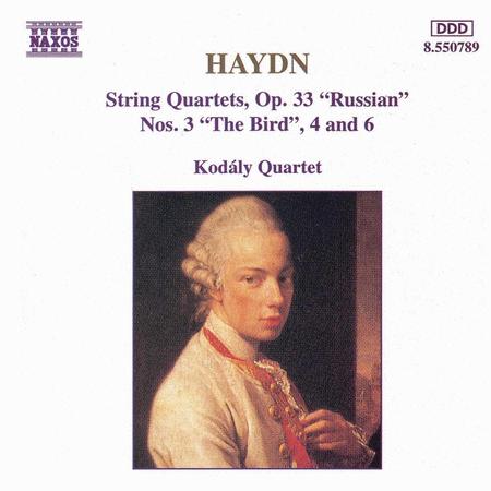 String Quartets Op. 33 Nos. 3