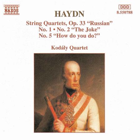 String Quartets Op. 33 Nos. 1