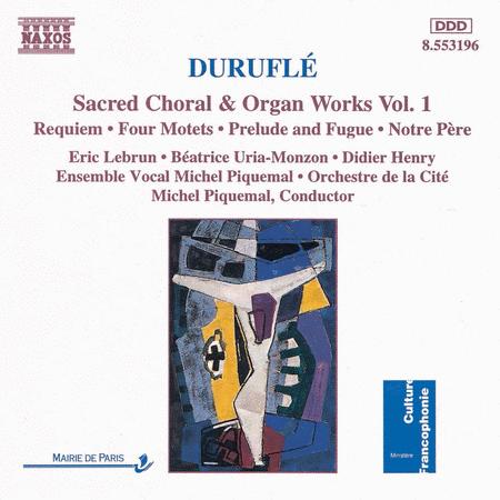 Sacred Choral & Organ Works Vo