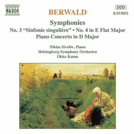 Symphonies Nos. 3 & 4 - Piano