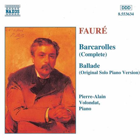 Barcarolles / Ballade
