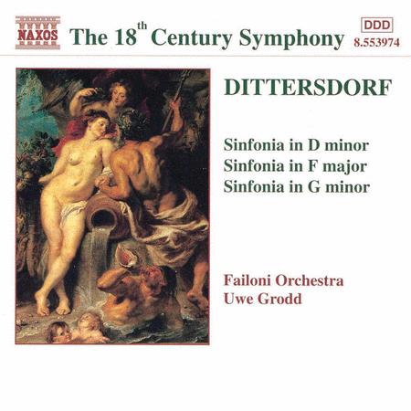 Sinfonias in D F & G