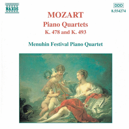 Piano Quartets K. 478 & 493