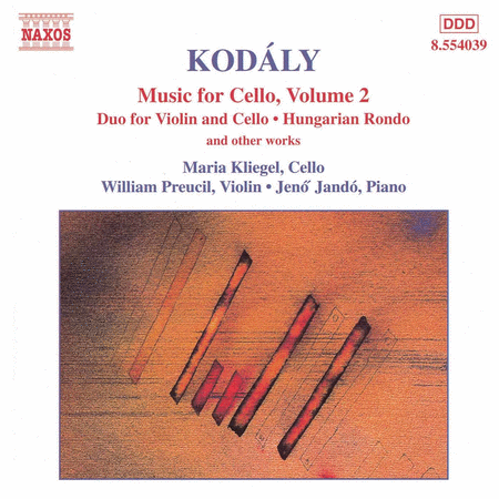 Music for Cello Vol. 2