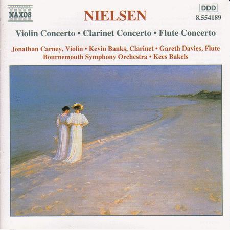 Violin Flute & Clarinet Concerto