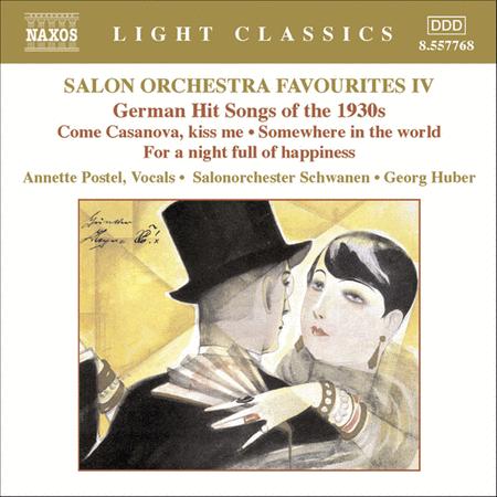 Salon Orchestra Favorites, Vol. 4