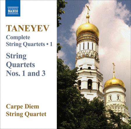 String Quartets Nos. 1 and 3