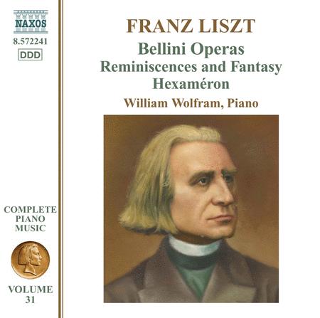 Volume 31: Liszt Piano Edition